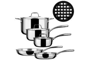 Duxtop Whole-clad Tri-ply Stainless Steel Premium Cookware Set Review 1