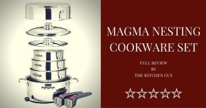 Magma Nesting Cookware Set Review: Great Stackable Cooking Pots For Chefs & Campers! 1