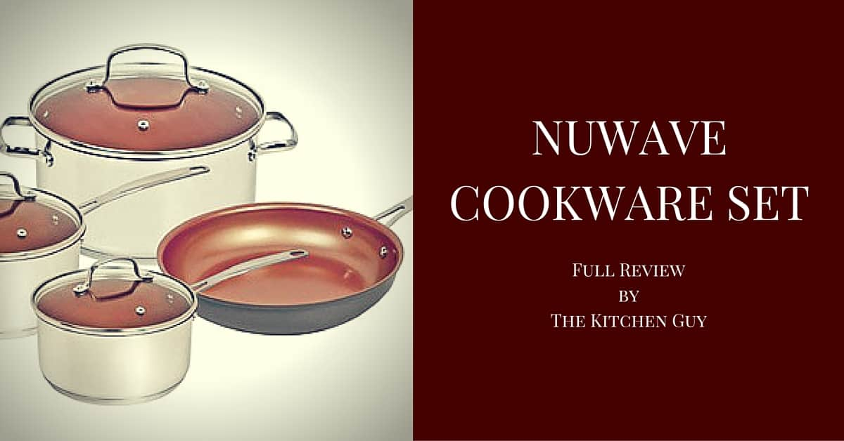 Nuwave Cookware Induction Set Review The Kitchen Guy