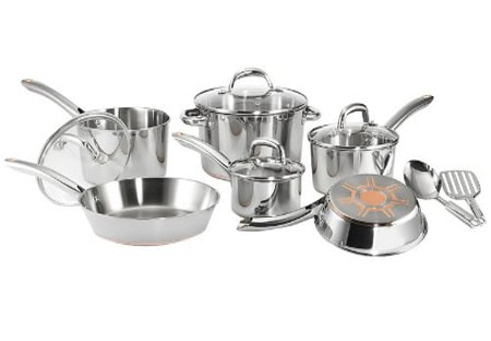 T Fal 12 Piece Stainless Steel Cookware Set Review