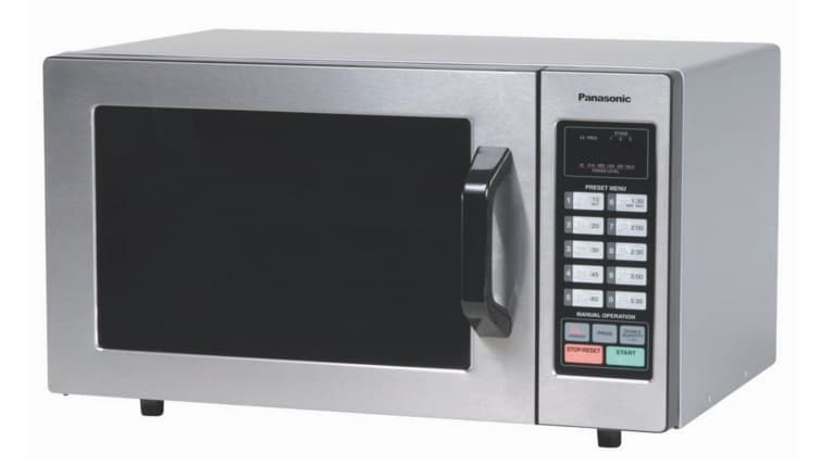Panasonic Ne 1054f Stainless Microwave Oven Essment