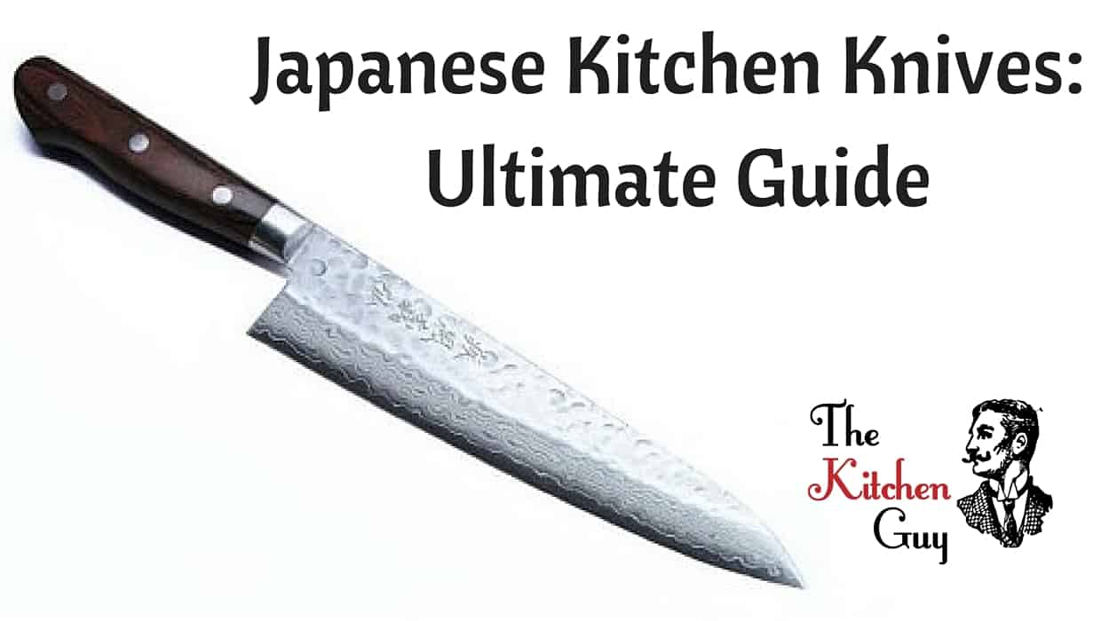 japanese kitchen knives ultimate guide of the best types the kitchen guy. Black Bedroom Furniture Sets. Home Design Ideas