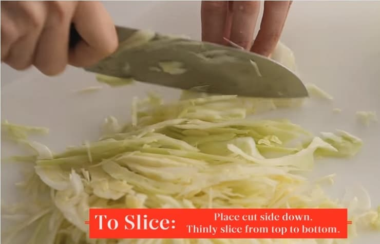 How to slice