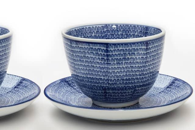 Japanese tea cup saucer