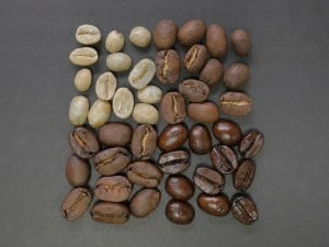 Grind & Color of coffee beans