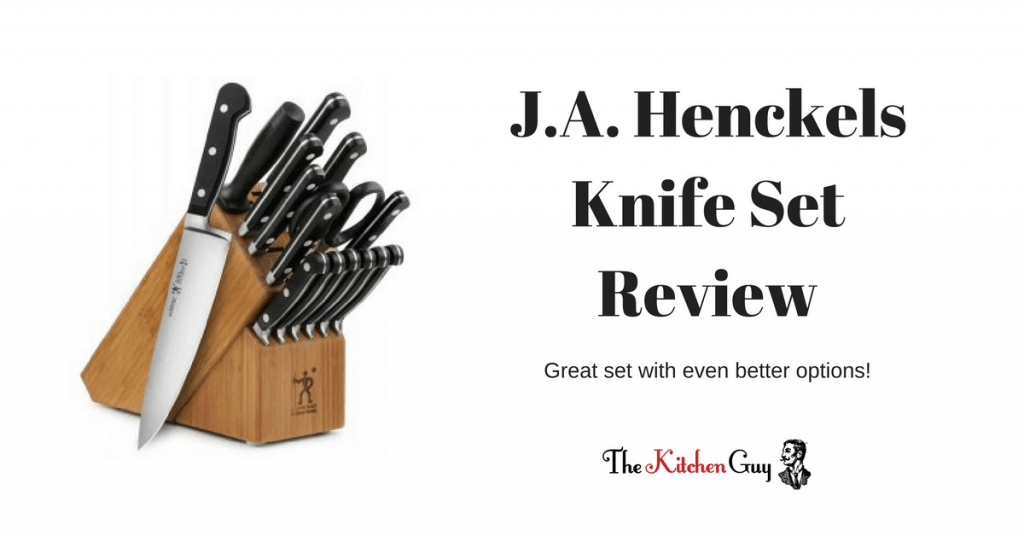 J.A. Henckels Knife Set Review | International Classic 15-Piece Forged Block Set 1