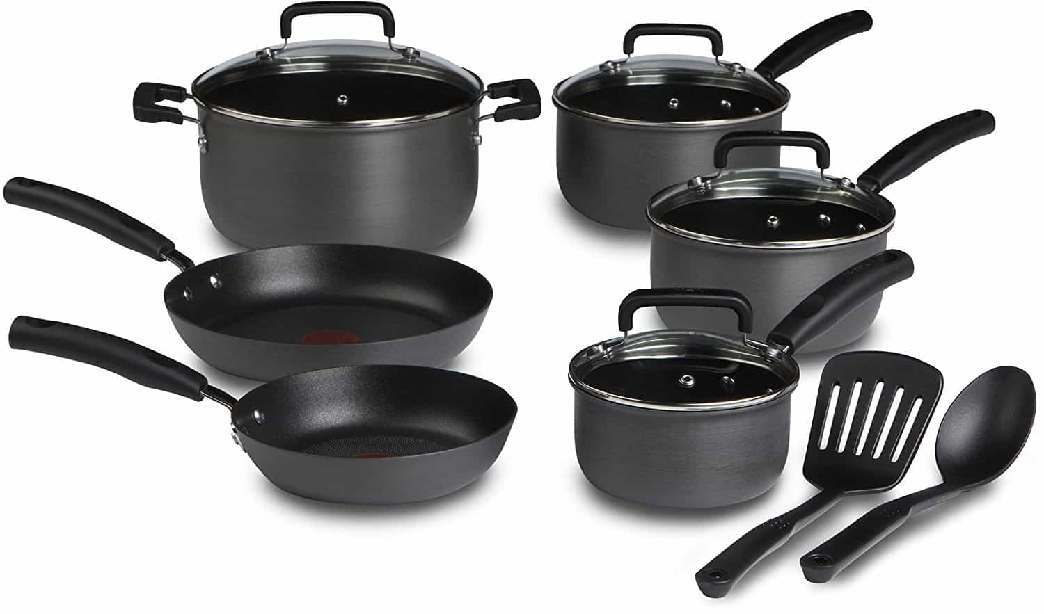 T-fal 12 Piece Stainless Steel Cookware Set Review 1