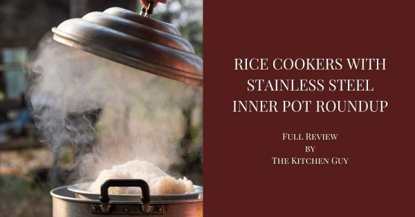 Rice Cooker with Stainless Steel Inner Pot Reviews